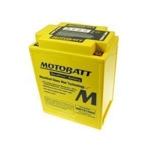 Batteria per Suzuki GSX 750 E sigillata MotoBatt 12V-16.5Ah