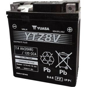 Batteria di accensione Yuasa YTZ8V 12V-7Ah