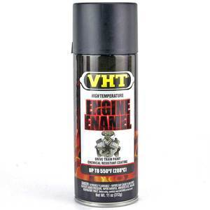 Engine paint VHT Engine Enamel black matt 400ml