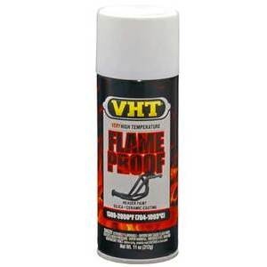Exhaust paint VHT Flame Proof white matt 400ml