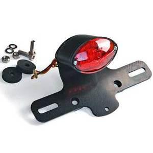 Fanalino posteriore led Cat-Eye micro LSL con portatarga