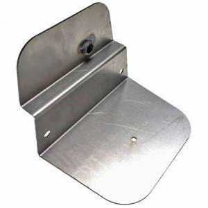 Air box cover BMW R Boxer 2V steel drilled