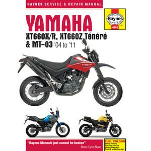 Manuale di officina per Yamaha MT-03 -'11