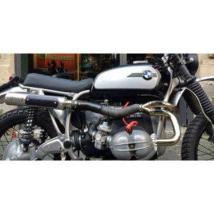 Impianto di scarico per BMW R 45 Mass 2 in 1 Scrambler