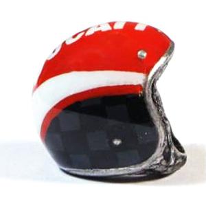 Ciondolo portachiavi casco Ducati