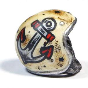 Keyholder pendant helmet Old School