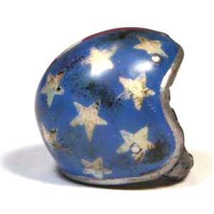 Ciondolo portachiavi casco Bandiera Americana
