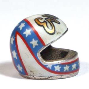 Ciondolo portachiavi casco Evel Knievel