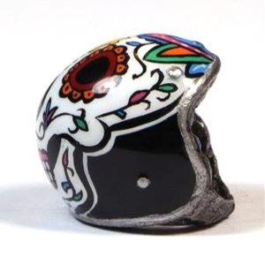 Ciondolo portachiavi casco Mariachi