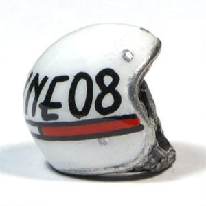 Ciondolo portachiavi casco Officine 08