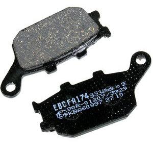 Coppia pasticche freno per Yamaha XSR 700 posteriore organiche EBC Brakes