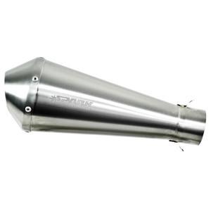 Finale di scarico Spark Mega 60mm inox satinato