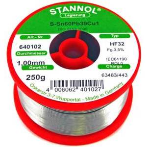 Soldering wire pond 1mm 250gr