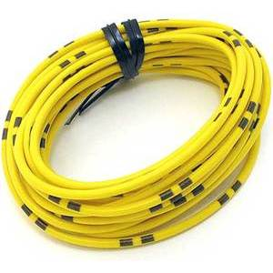 Electrical cable 0.82mm yellow