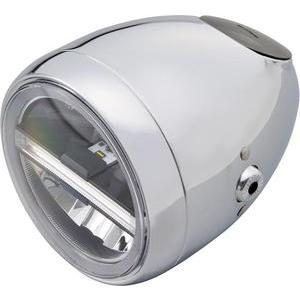 Full led headlight 5.3/4'' Daytona Vintage chrome