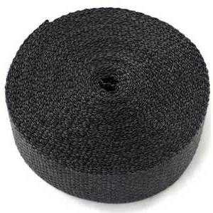 Benda termica collettori di scarico 1093° nero 50mm 7,5mt