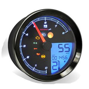 Electronic multifunction gauge Harley-Davidson Sportster '14- Koso HD-01 black