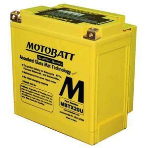 Battery Harley-Davidson Sportster sealed Motobatt MBTX20U 12V-21Ah