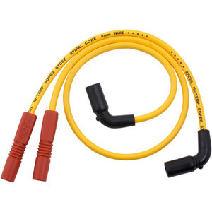 Ignition cable kit Harley-Davidson Touring Accel 8mm yellow
