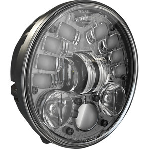 Full led headlight Harley-Davidson 5.3/4'' J.W. Speaker 8691 low mounting black matt