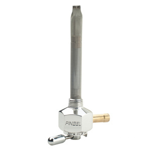 Fuel cock 1/4'' NPT right connection Pingel Power-Flo Classic aluminium