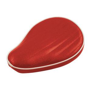 Sella completa per Harley-Davidson telaio rigido Le Pera Old School Metal Flake rosso candy