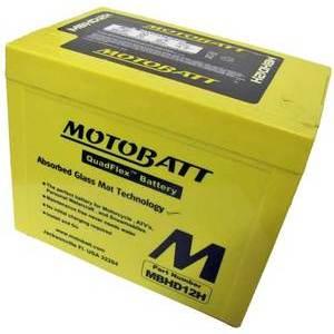 Batteria per Harley-Davidson 1200 Electra Glide sigillata MotoBatt MBHD12H 12V-33Ah