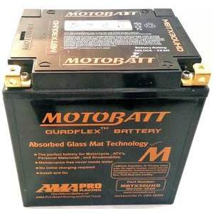 Battery Harley-Davidson Touring sealed Motobatt MBTX30UHD Black 12V-32Ah