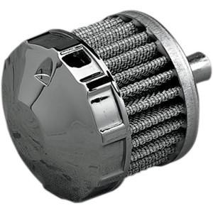 Filtro sfiato olio motore 9.5mm Emgo cromo