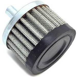 Crankcase vent filter 9.5mm Emgo