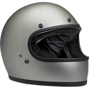 Casco moto integrale Biltwell Gringo grigio
