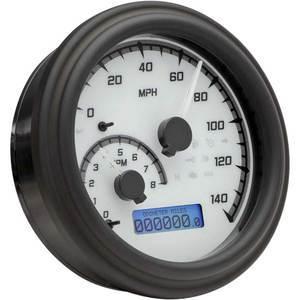 Electronic multifunction gauge Harley-Davidson Dyna '04-'10 Dakota Digital body black dial white