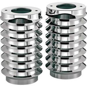 Fork gaiters Harley-Davidson Arlen Ness chrome pair