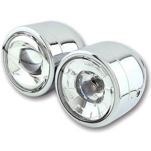 Full led headlight 3.5'' Twin chrome