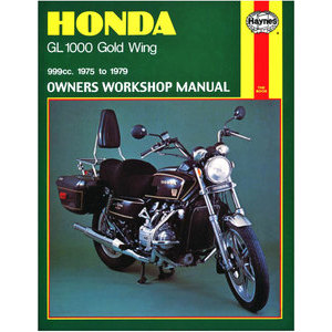 Manuale di officina per Honda GL 1000 Goldwing