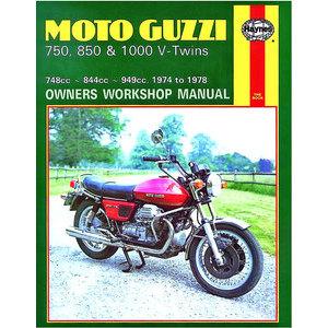 Manuale di officina per Moto Guzzi 750-1000 '74-'78