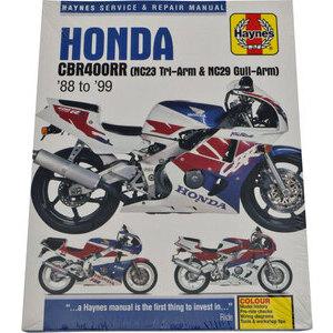 Manuale di officina per Honda CBR 400 RR