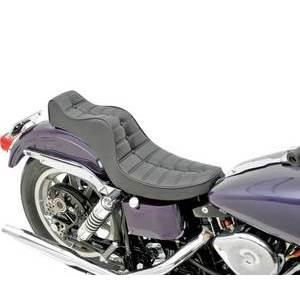 Complete seat Harley-Davidson Shovelhead '58-'84 Drag Specialties Mini King&Queen 2-up seat