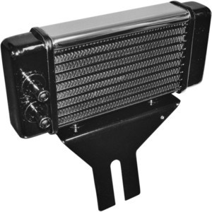 Radiatore olio motore per Harley-Davidson Dyna '91-'98 cromo
