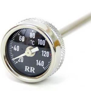 Engine oil thermometer Moto Guzzi Serie Grossa i.e. dial black