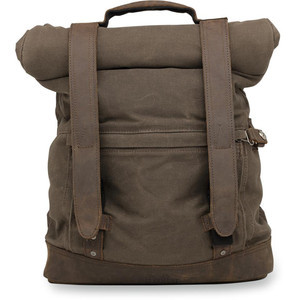 Backpack Burly Roll Top brown