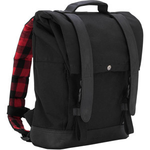 Backpack Burly Roll Top black
