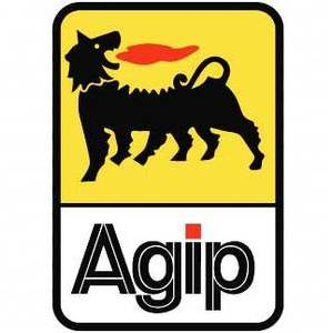 Sticker Agip 75x110mm