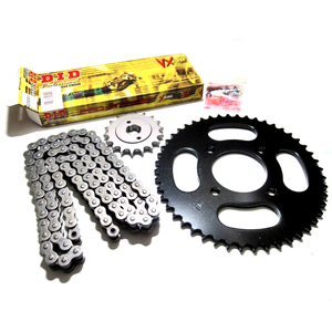 Kit catena, corona e pignone per Honda NX 650 Dominator '91-'94 DID