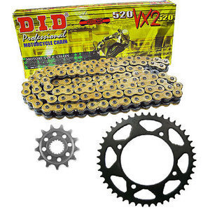 Chain and sprockets kit Cagiva Raptor 650 DID Premium