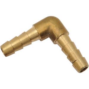 Connettore tubo benzina 6mm ottone 90°