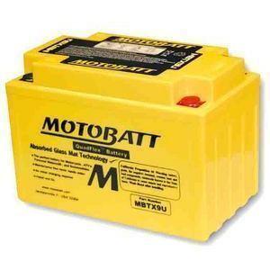 Batteria per Cagiva Raptor 650 sigillata MotoBatt 12V-10.5Ah