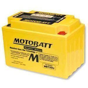 Batteria per Honda NX 650 Dominator sigillata MotoBatt 12V-10.5Ah