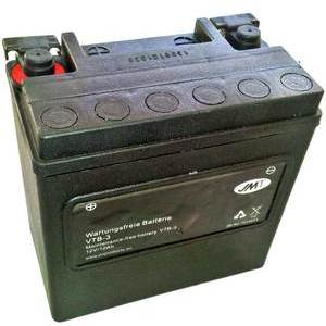 Battery Harley-Davidson Street sealed JMT VTB-3 12V-14Ah