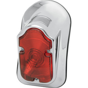 Halogen tail light Tombstone chrome